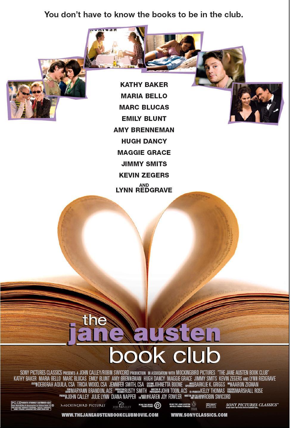 The Jane Austen Book Club starring Marc Blucas