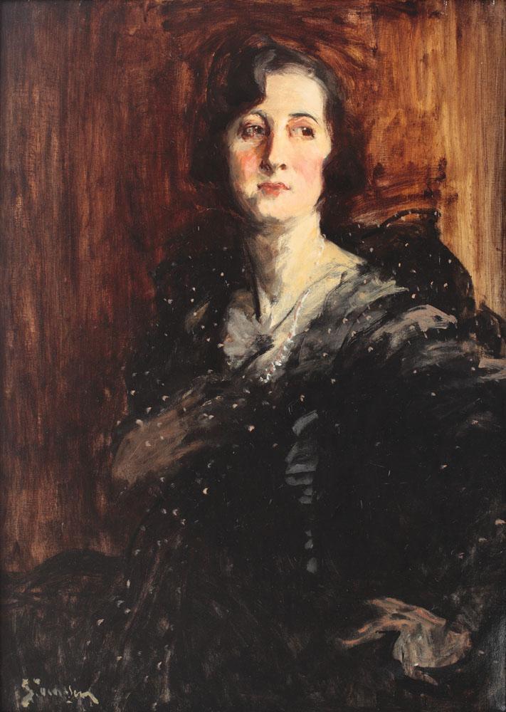 Portretul unei aristocrate