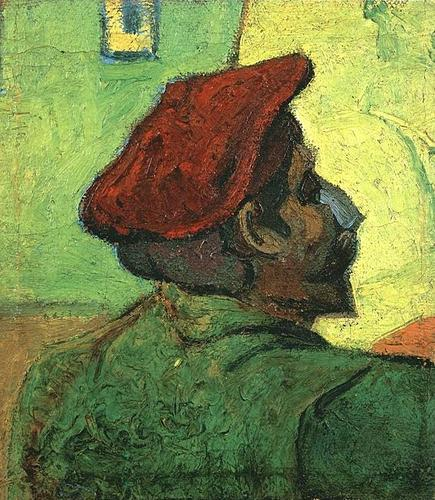 Paul Gaugain (Omul cu boneta rosie) - tabloude Van Gogh